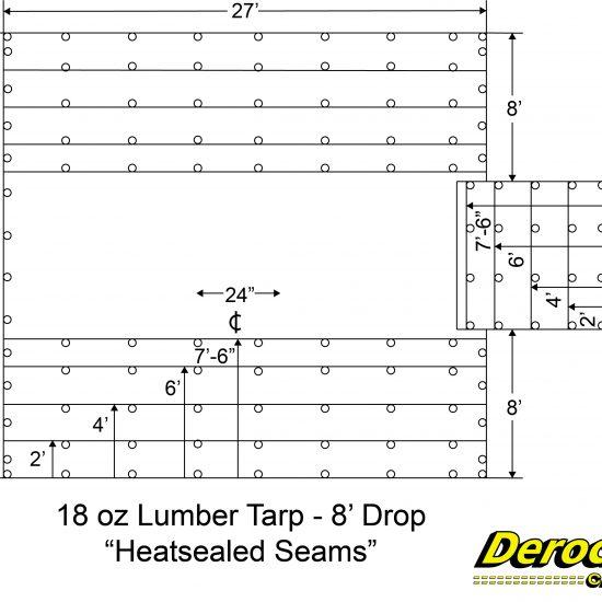 ' Drop Heatsealed seams