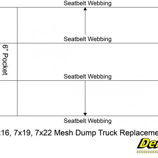 7x16, 7x19, 7x22 Mesh Dump Truck Replacement Paver (2017)