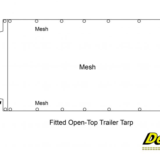 Fitted Open-Top Trailer Tarp-01