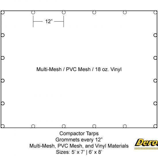 Compactor Tarp Schematic